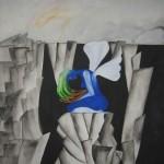 Avgrunden sedd från ovan - L'abisso visto dall'alto Cubismo Cubism Kubism