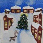 Jul - Natale - Christmas - Reindeer - Ren - Renna - Naif - Naivism