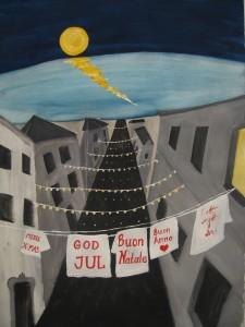 God Jul - Merry Christmas - Buon Natale