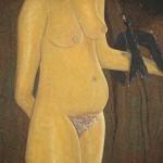 Den svarta fågeln och den nakna kvinnan
