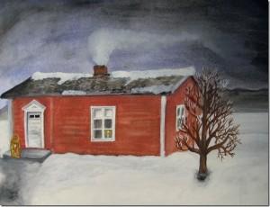 Pappas barndomshem i Snesudden - La casa natale di mio padre - Jokkmokk - Pottaure - Lappland - Lapponia - Svezia - Sweden - Norrbotten - Lapland