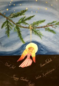 God Jul - Merry Christmas - Buon Natale